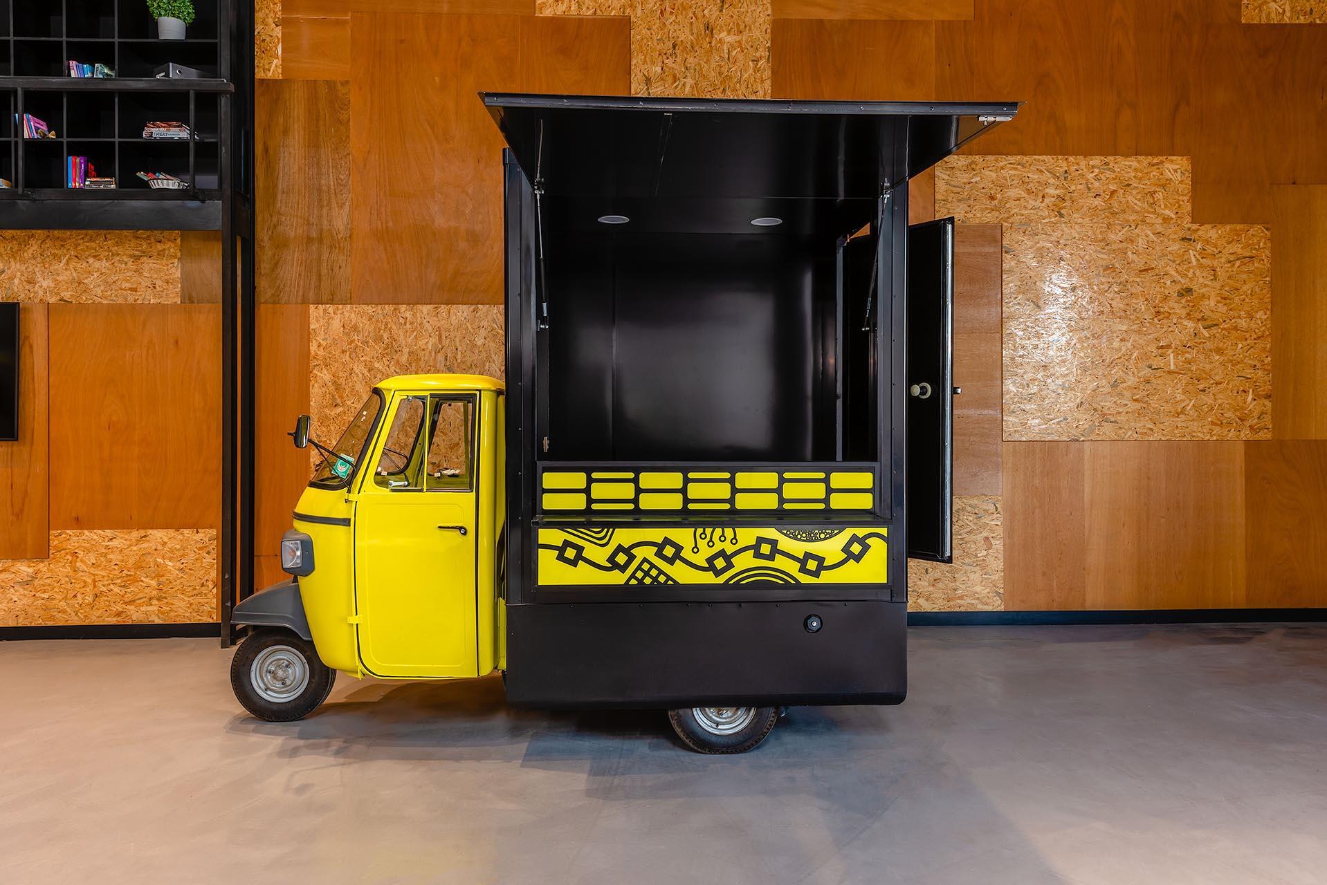 Used food trucks in Dubai